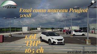 Essai Peugeot 5008 1.6 THP 165