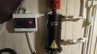 Отопление частного дома 100кв м. Реальный отзыв, цифры.