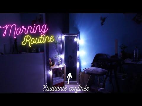 la-morning-routine-d'une-étudiante-confinée