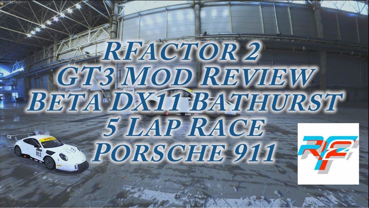 Rfactor 2 GT3 Mod at Bathurst DX11 Review