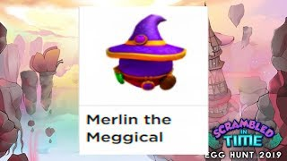 🥚Roblox Spell Battle How to Get Merlin the Meggical🥚