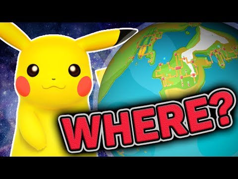 """Pokemon Theory"" - Where Are All The Pokemon Regions? Main And The Side Pokemon Games"