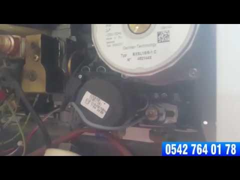 Eryaman'da Baymak Eko 4 Elektronik Kart ve 3 Yollu Motor Sökümü Nasıl Yapılır?
