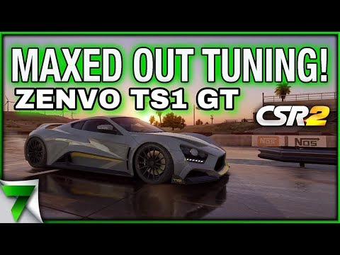 MAX OUT ZENVO TS1 GT TUNING CHALLENGE! | CSR Racing 2