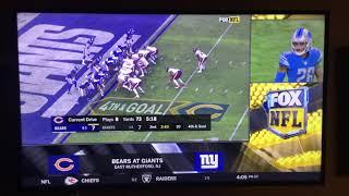 NFL on FOX Today Game Break Update: Bears @ Giants on FOX (2)