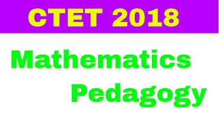 Mathematics Pedagogy|Learning Resources and ICT for Mathematics Teaching|CTET 2018