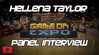 Hellena Taylor - The Voice of Bayonetta | Game On Expo 2019