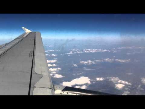 Aegean Airlines A320 Take off LKPR (Prague) - Landing LGAV (Athens)