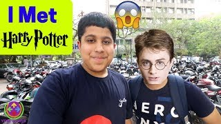 I Met Harry Potter ! 😳😍