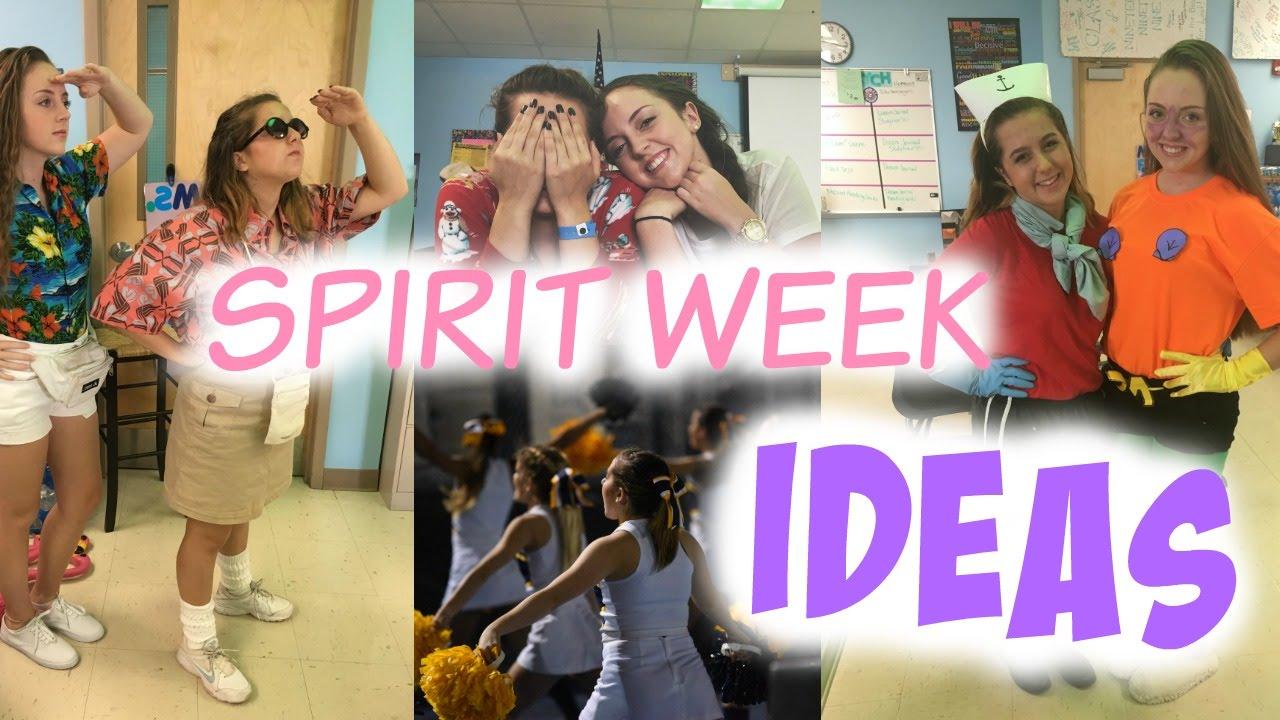 Homecoming/Spirit Week Ideas!
