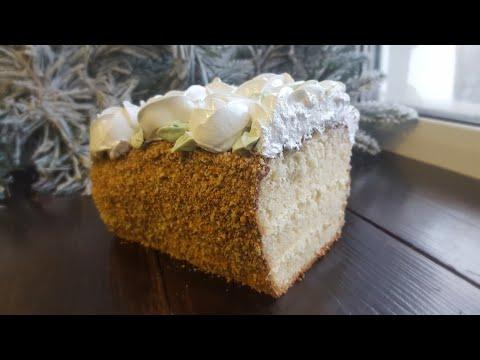 Тортики бисквитные в домашних условиях рецепты с фото