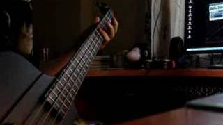 "Dark Tranquility ""Monochromatic Stains"" bass cover"