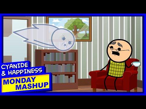 Old Men Speedrunning Death | Cyanide & Happiness Monday Mashup
