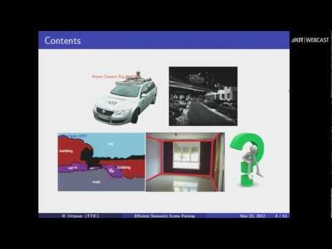 Efficient Algorithms for Semantic Scene Parsing