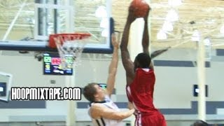 Andrew Wiggins Has BOUNCE! Show Out In Dallas Nike EYBL!!!
