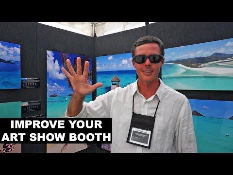 Top 5 Ways To Improve Your Art Fair Display!