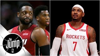 Dwyane Wade says Rockets making Melo