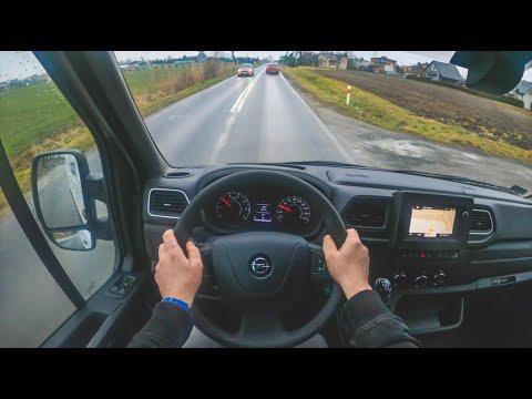 New Opel Movano 2020 4k Pov Test Drive 401 Joe Black Youtube