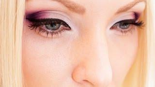 МАКИЯЖ в ярко розовых тонах с кистями от  M. Art !!!(Подробный урок макияжа глаз в ярко розовых тонах с кистями от M. ART. Мой канал: http://www.youtube.com/user/Grinchirina Facebook:..., 2013-10-24T16:12:10.000Z)