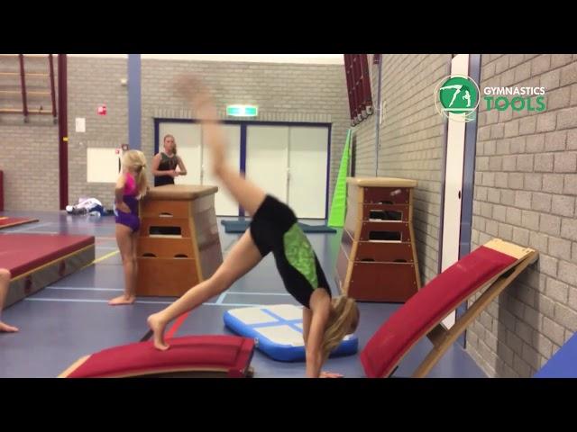Back Walkover Drills and Exercises Uneven Bars Gymnastics