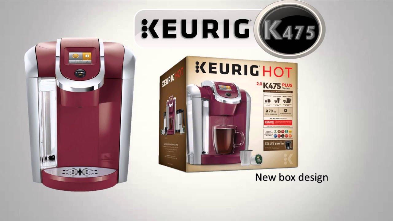 Keurig K425 475 Plus Series