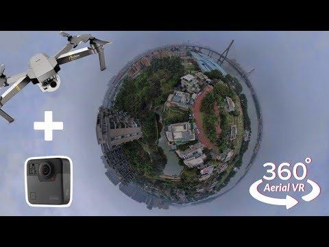 Real Estate Aerial 360° Drone Video Example | GoPro Fusion + DJI Mavic Pro
