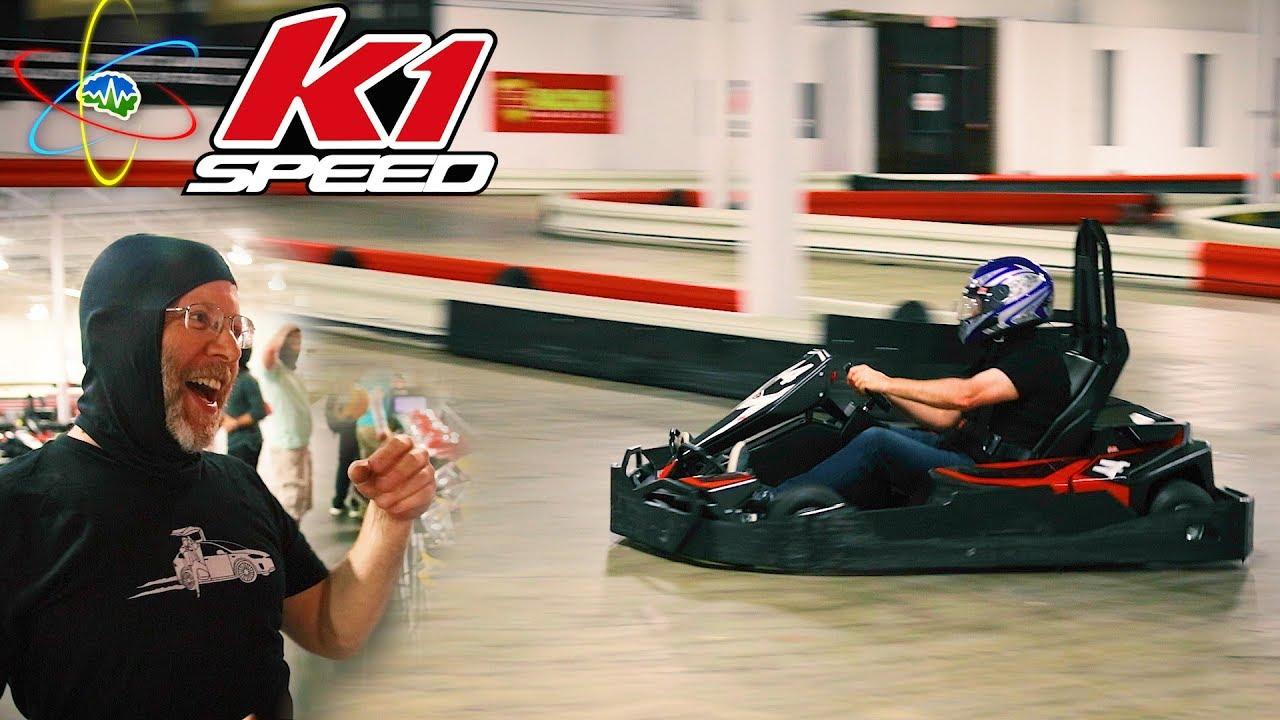 Electric Go Kart Racing K1 Sd