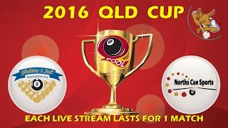 2016 Qld Cup - Men's 8 Ball Team - Gladstone v Norths