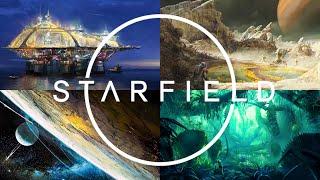 STARFIELD Deep Dive - Ancient Alien Technology, Trailer Analysis, Concept Art, Todd Howard Interview