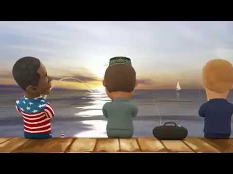 Минниханов, Путин и Обама на рыбалке (МУЛЬТИК)