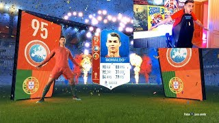 CRISTIANO RONALDO IN A PACK DISCARD CHALLENGE
