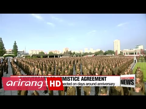 No sign of North Korean missile launch on anniversary of Armistice Agreement