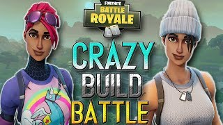 EPIC Build Battle | CROZ_YT VS BLACKHAMMER | Fortnite Battle Royale (both pov's)