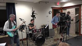Aiden Performing Fade To Black Main Street Music and Art Studio