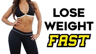 How To Lose Weight Fast (MELT Fat) | 4 Body Sculpting Exercises For Faster Fat Loss!!