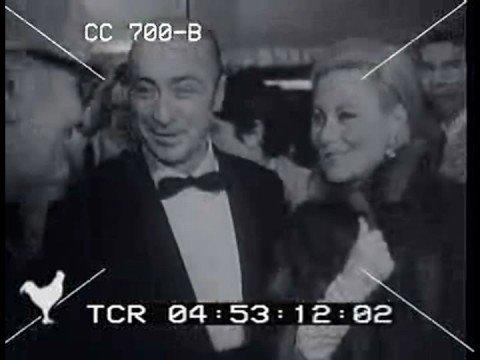"""MARIA CALLAS 18.12.1968 Paris première film """" Mayerling"""""""