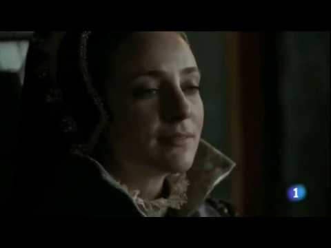 Mary Tudor in 'Carlos, Rey Emperador' - Mary I and Philip on the throne together