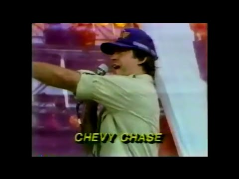 Chevy Chase - Stephen Fallon Donor Announcement (Live Aid 7/13/1985)