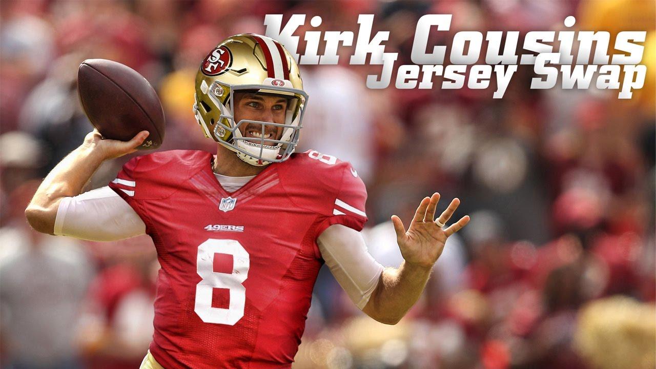 kirk cousins nfl jersey