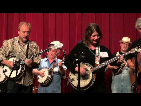 Concert Finale - Red Haired Boy - Midwest Banjo Camp 2014