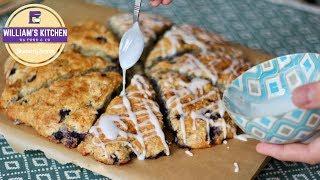 Scones à la Myrtille (Blueberry Scones) | William's Kitchen