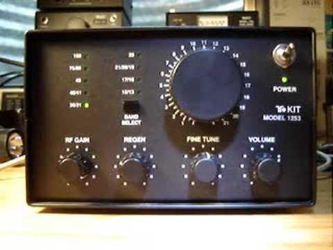 WWV marine storm warning 10 MHz