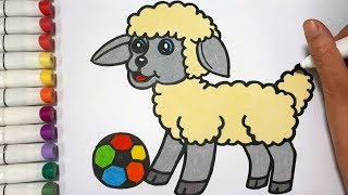 How To Draw A Sheep || Draw For Kids