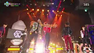 170930 EXO POWER perform at JYP PARTY PEOPLE SBS