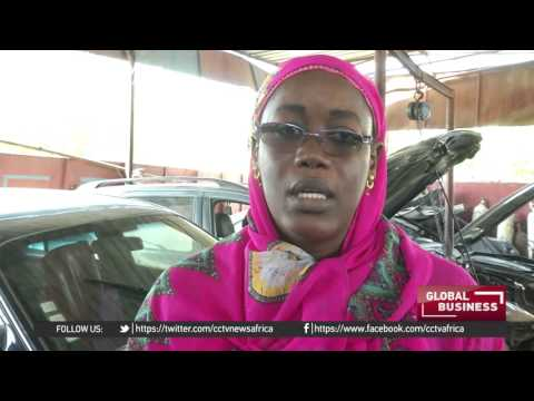 Women in Dakar now excel at car repair business
