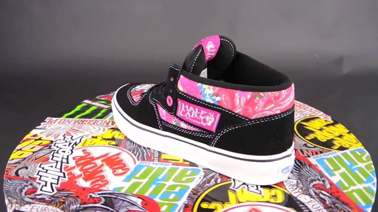 d79e77df57 VANS Half Cab  (MULTI FLORAL) TRUE WHITE   - YouTube