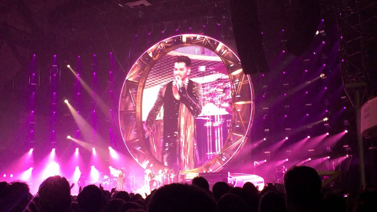 i want to break free queen adam lambert frankfurt. Black Bedroom Furniture Sets. Home Design Ideas