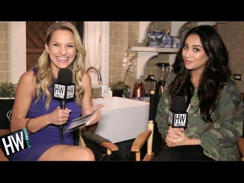 Shay Mitchell Teases 'Emison' Romance & Talks Season 7! (Pretty Little Liars) | Hollywire