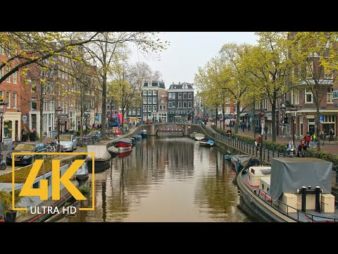 Trip to Amsterdam 4K, Netherlands – Travel Film with Music – European Cities