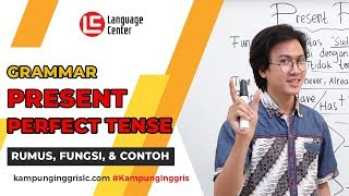 Download lagu Fungsi dan Rumus Present Perfect Tense | TEATU with Mr Diaz - Kampung Inggris LC